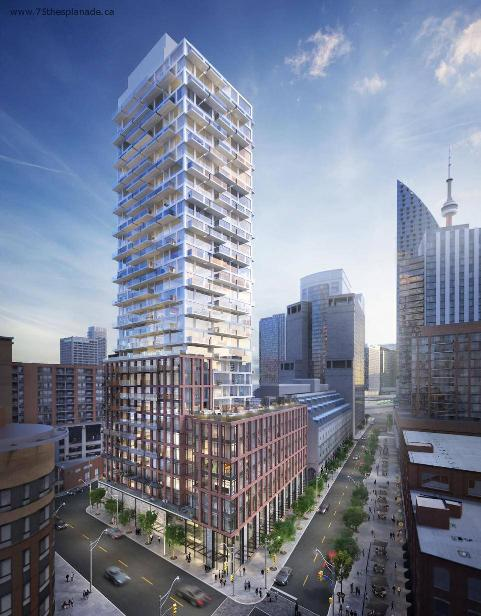 75 on the esplanade-new saint lawrence condos