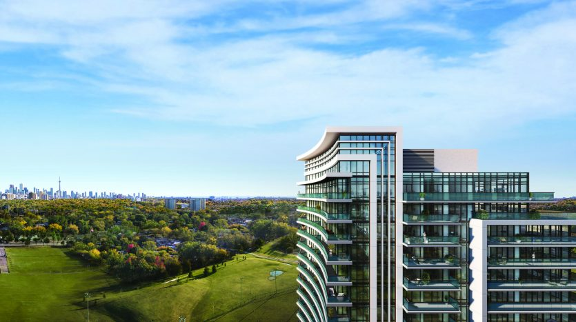 7 on the park condos rendering