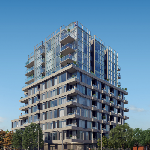 Cardiff Condos - front view daytime