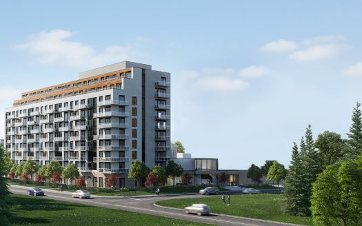 elgin east condos & towns phase 2-midrise rendering-new richmond hill condos & towns