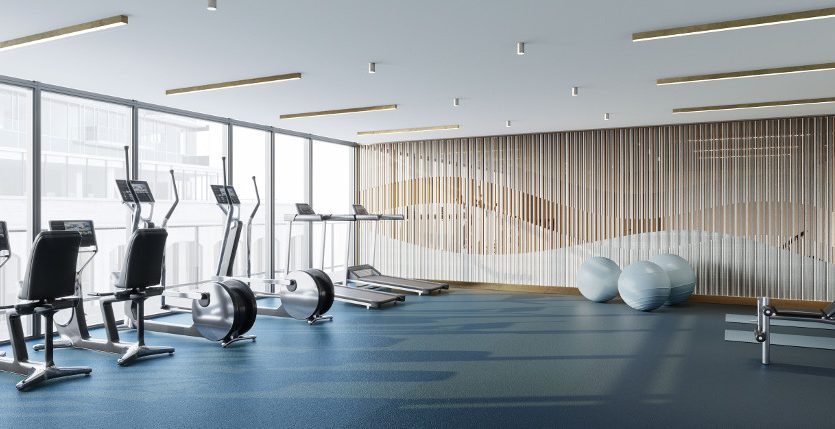 tridel at the well condos gym