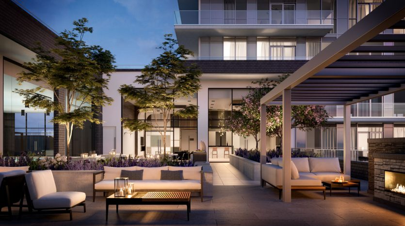Era Condos - Outdoor Terrace