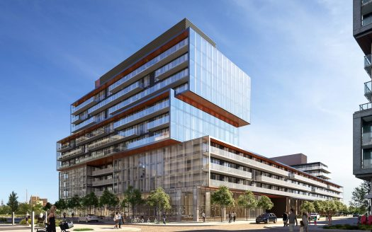 Exterior RENDERING-Canary Commons