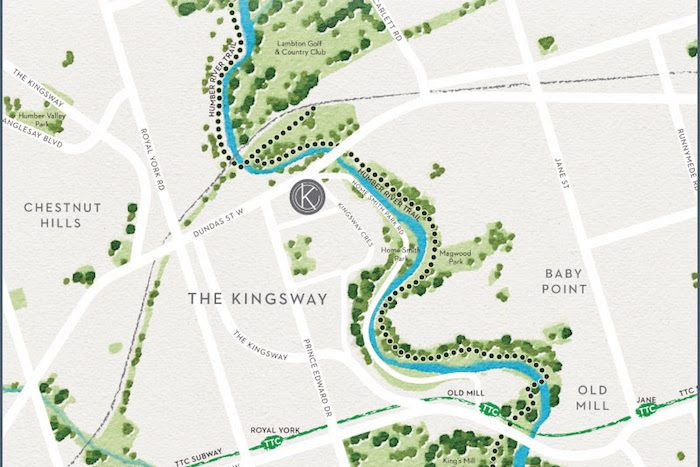 Kingsway Crescent Condos-area map-new kingsway condos