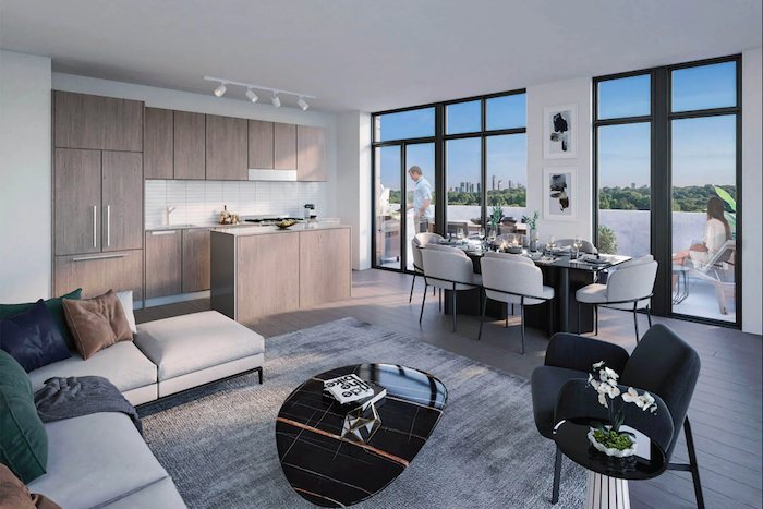 Kingsway Crescent Condos-condo living room