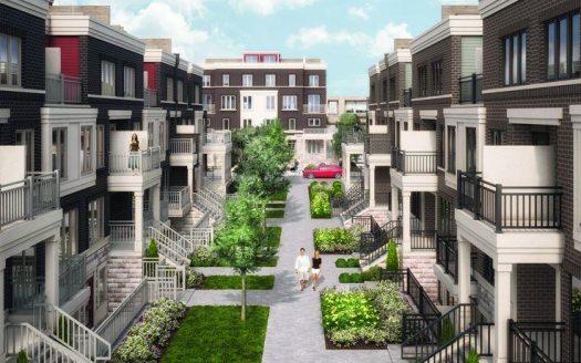Minto Long Branch - Walkways Rendering2 - free market evaluation or appraisal - 3600 lakeshore boulevard west