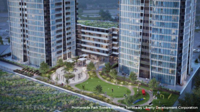 Promenade Park Towers Podium