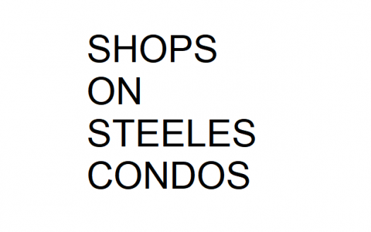 shops on steeles-new thornhill condos