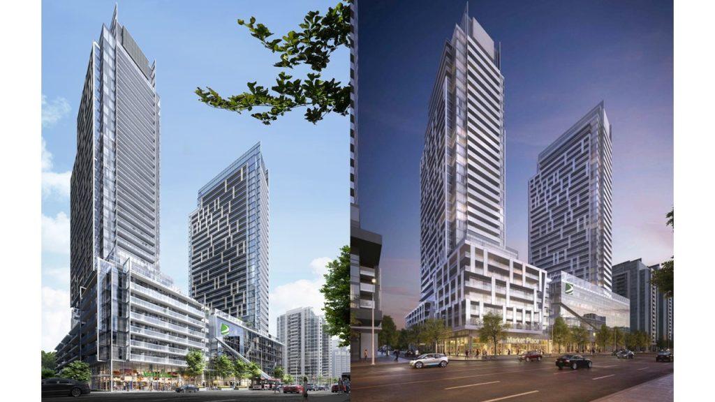 m2m condominiums rendering