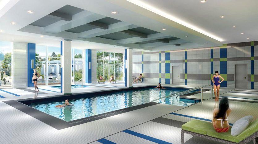 centro square condos pool
