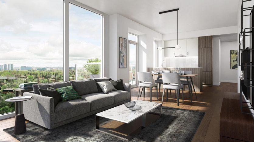 m2m condos living room