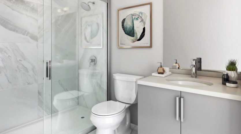 the way urban towns in erin mills bathroom