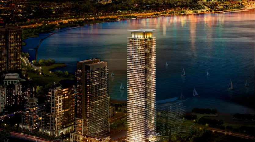 waters edge rendering-new humber bay condos-2147 lake shore boulevard west