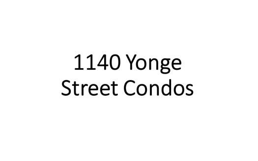 1140 Yonge Street Condos_logo