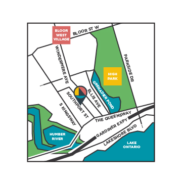34 Southport St Condos - area map - swansea