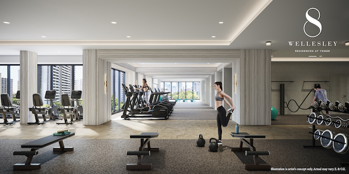 8 Wellesley - State-of-the-art Fitness Centre