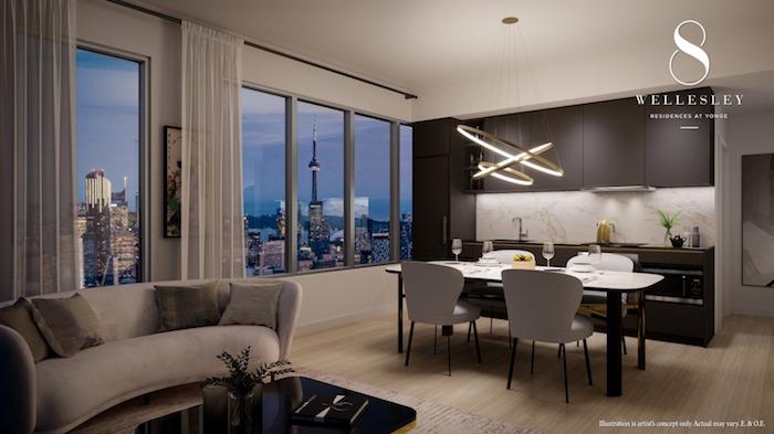 8 Wellesley Suite Interior -Enigmatic Palette