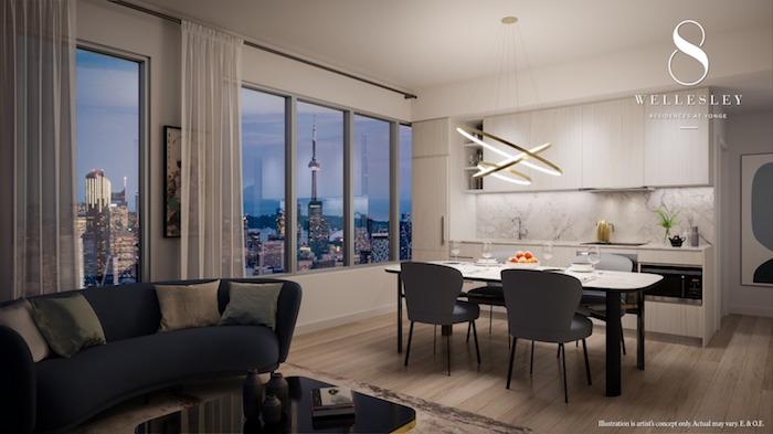 8 Wellesley Suite Interior -Enlightened Palette