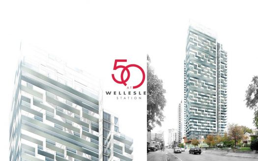50 at wellesley station condos