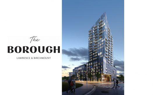 the borough condos rendering with logo