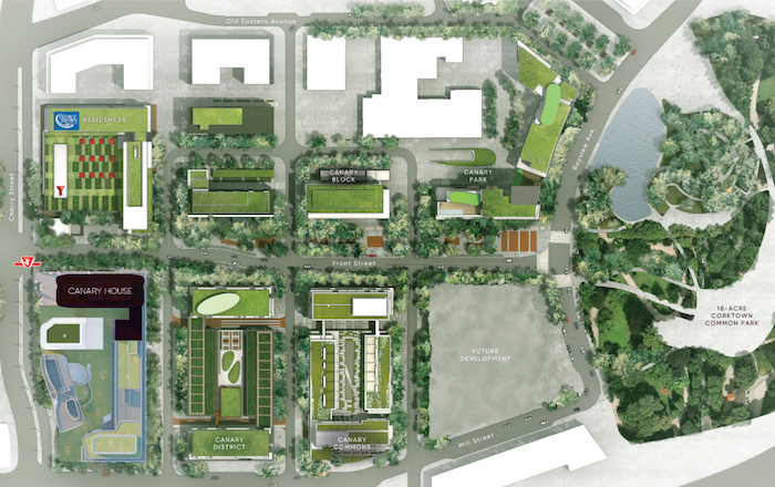 Canary House Condos - site plan