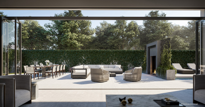 Forest Hill Private Residences - outdoor amenity space
