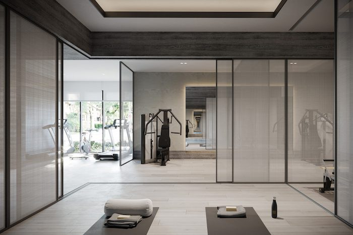 Forest Hill Private Residences - gym