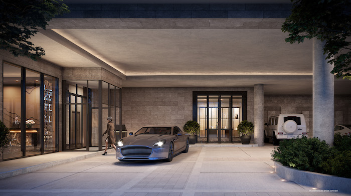 Forest Hill Private Residences - parking garage