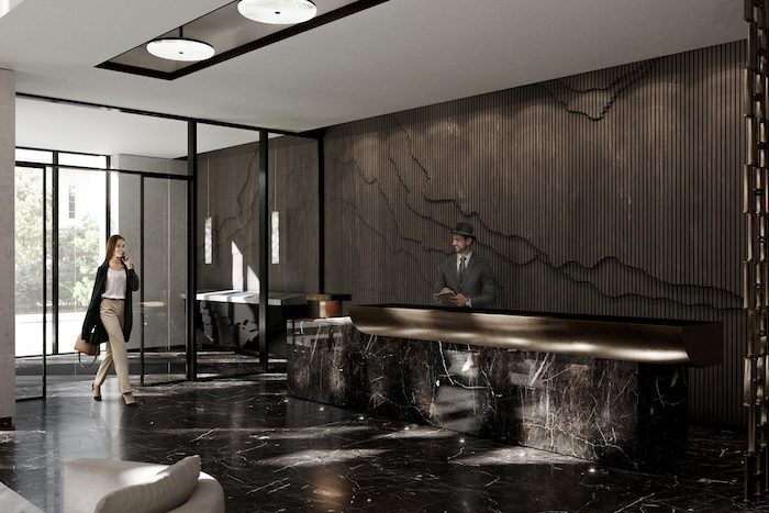 Forest Hill Private Residences - interior lounge