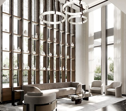 Forest Hill Private Residences - lobby