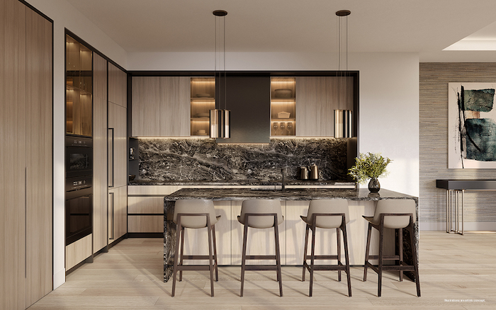 Forest Hill Private Residences - kitchen 2