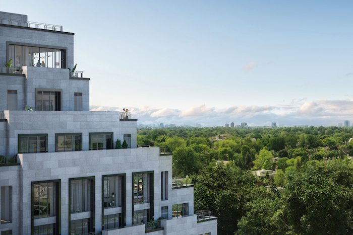 Forest Hill Private Residences - north terrace