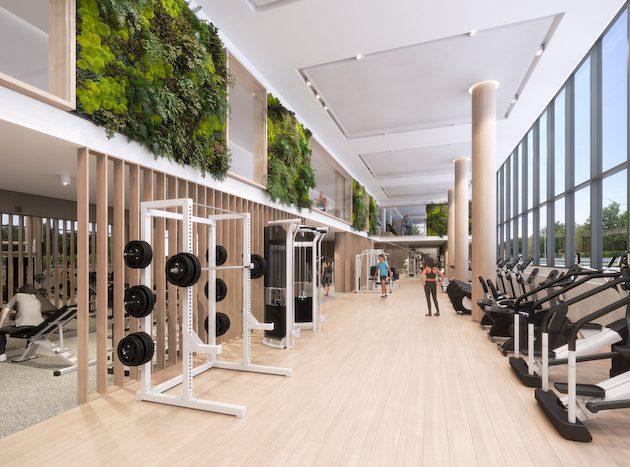 queen ashbridge condos-fitness centre