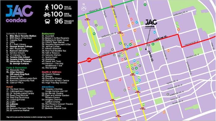 jac condos-area map