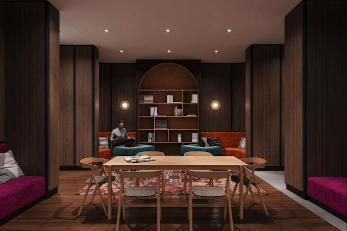 Reina Condos-library