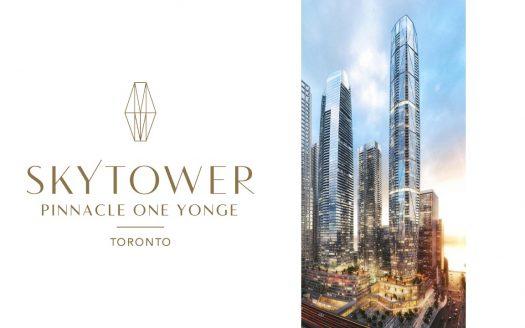 skytower at pinnacle one yonge-new harbourfront condos