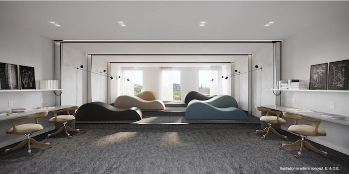 jac condos-study room