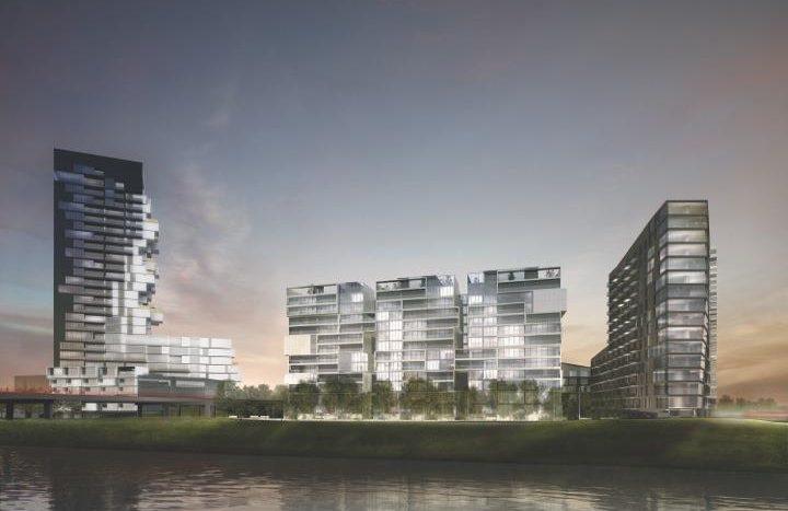 river city condos development