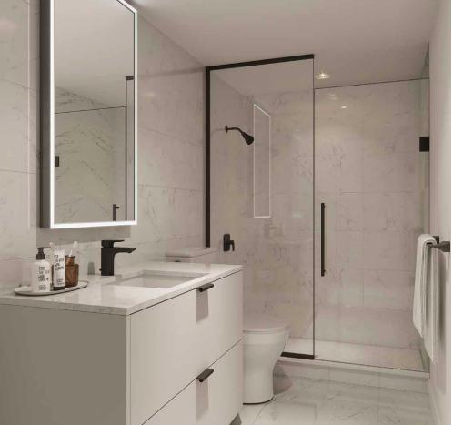 Burke Condos-bathroom