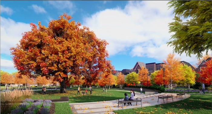 Union Village - park in autumn