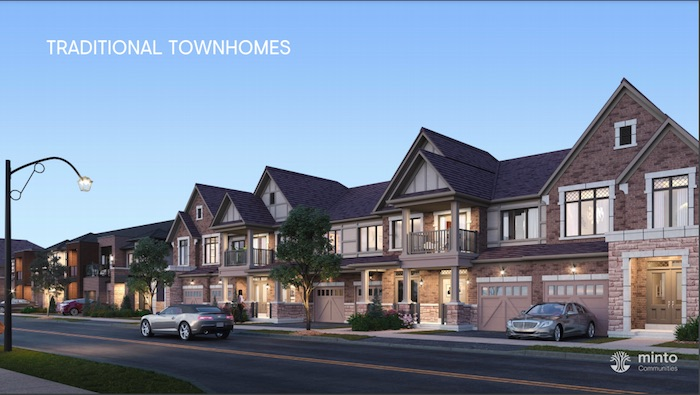 Union Village - traditional townhomes