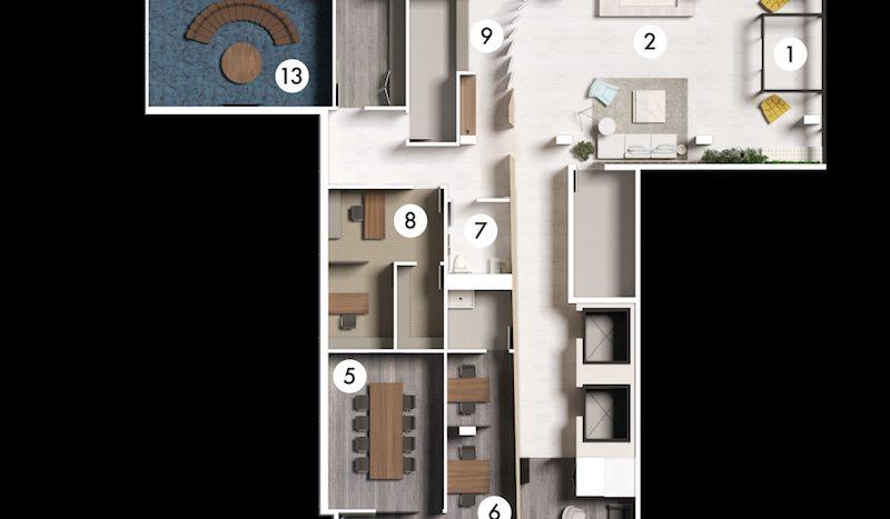 181 east-ground floor amenities