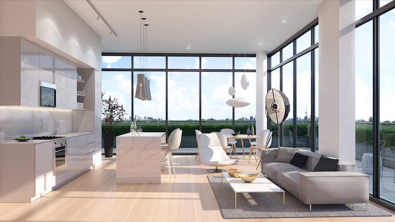 new willowdale condos-modern suite
