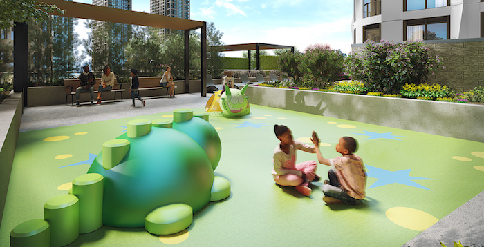 Westerly Condos - children's play area