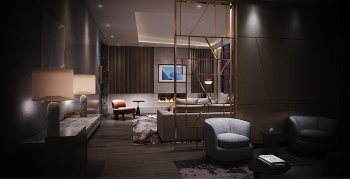 Westerly Condos - indoor lounge 2