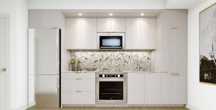 Westerly Condos - kitchen