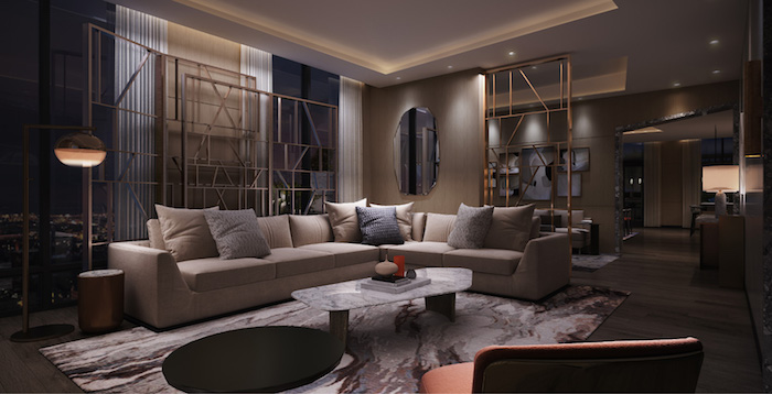 Westerly Condos - living room 3