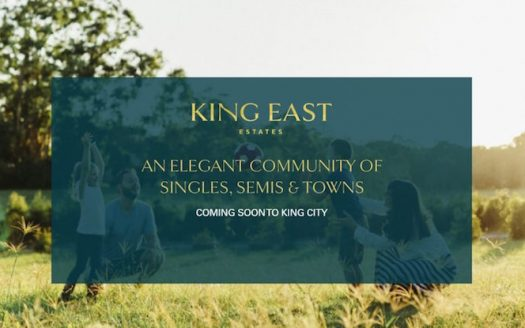 king east estates-sign image