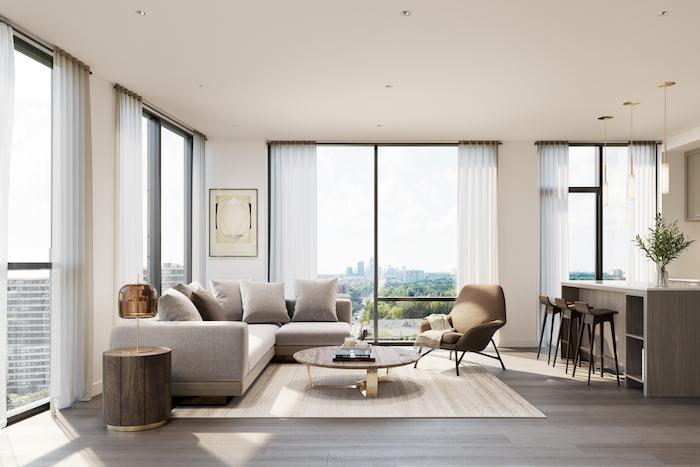 8188 yonge-interior living space