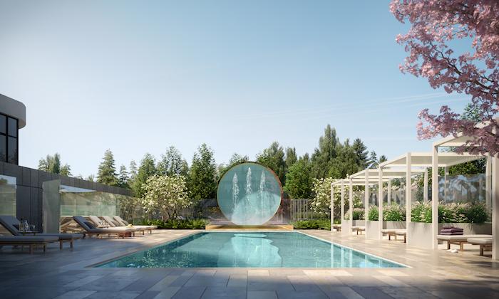 8188 Yonge-outdoor pool